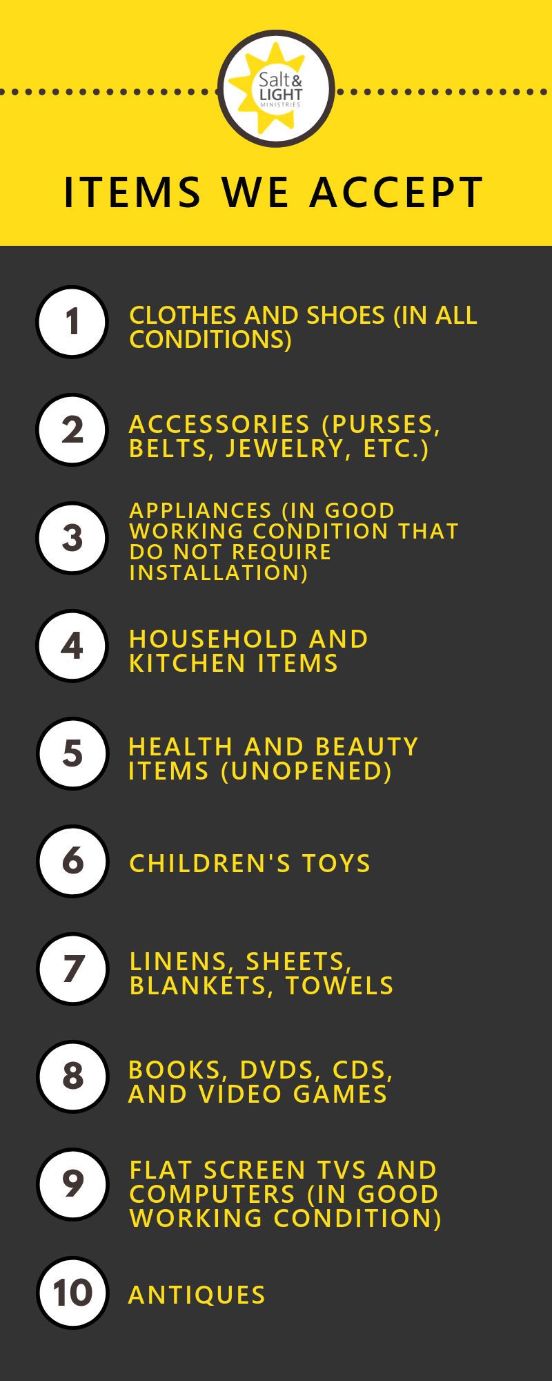 Donate Goods -